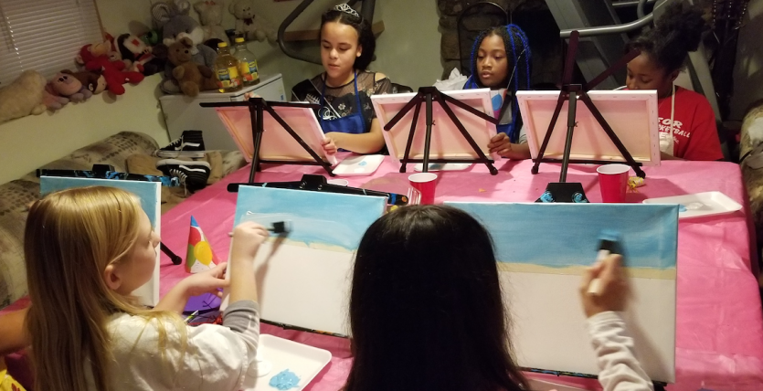 kids painting party